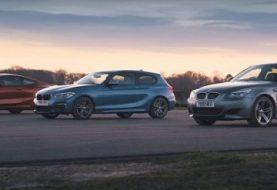 E60 BMW M5 Drag Races 840d Coupe and M140i, Reveals the Progress