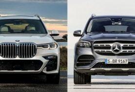 2020 Mercedes-Benz GLS-Class vs. BMW X7: Big Luxury SUV Photo Comparison