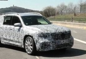 2020 Mercedes-AMG GLB 35 Spied at 'Ring: Mexico-Built AMG?