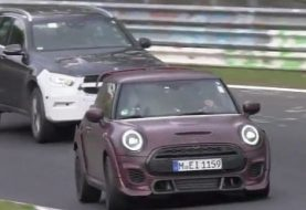 Extra-Wide Cooper JCW GP Spied at Nurburgring as Fastest MINI Ever