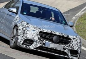 2021 Mercedes-AMG E63 S Shows Up at Nurburgring, Out for M5 Competition Blood