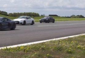 New Porsche 911 Carrera 4S Drag Races BMW M850i, GT-R Nismo, Audi R8