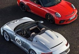 2020 Porsche 911 Speedster Shines in New Images as Production Begins