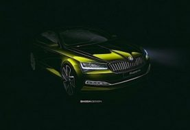 This Is the First Official Image of the 2020 Skoda Superb