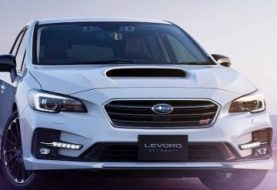 Subaru Japan Reveals Levorg STI Sport With 292 Horsepower