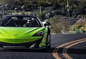 2020 McLaren 600LT Spider Sells in the U.S. from $256,500
