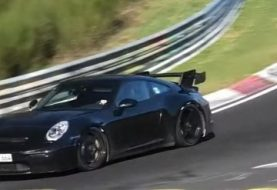 New Porsche 911 GT3 Spotted Flying On Nurburgring, Sub-7m Lap Time Rumored