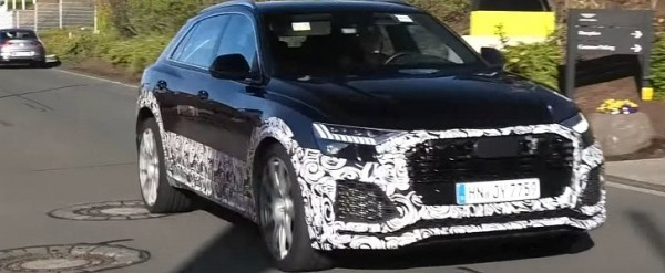 RS Q8 SPied at the Nurburgring, Is a 600+ HP Lamborghini Urus Rival