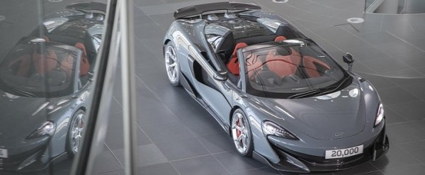 There Are Now 20,000 McLaren Cars on Public Roads