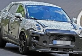 Ford Puma SUV Spied at the Nurburgring, Coming in 2020 With 155 HP, Hybrid Tech