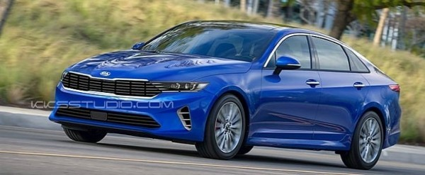 2021 Kia Optima Accurately Rendered, Looks Sleek