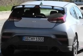 Veloster N Testing Hard With DCT at the Nurburgring