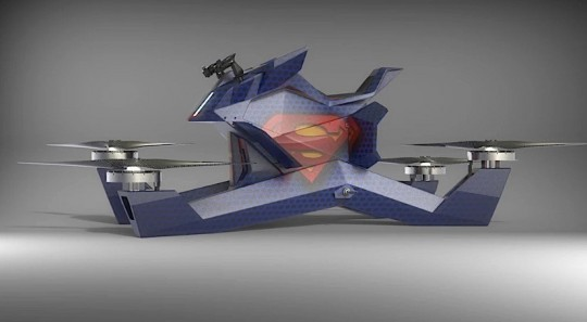 Hoversurf Hoverbike S3 – Drone Powered Individual Flying