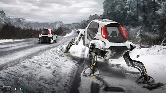 Concept Cars of the Future – If It Crawls Like a Reptile, It's a Hyundai Elevate