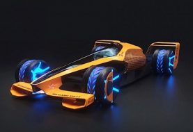2050 Formula 1 Racing - The McLaren MCLExtreme