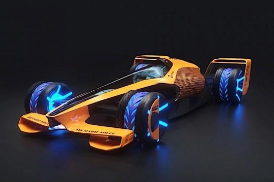 2050 Formula 1 Racing – The McLaren MCLExtreme