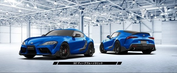 TRD Parts Go Official For 2020 Toyota GR Supra In Japan