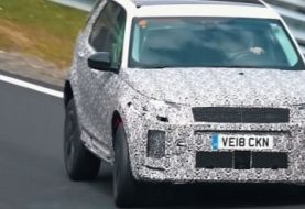 2020 Discovery Sport Spied at the Nurburgring, Looks Like a Practical Evoque