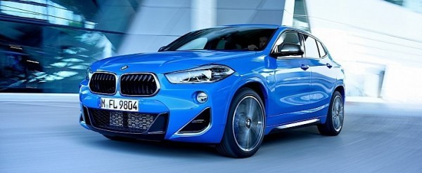 2020 BMW X2 M35i Shines Blue in Extensive New Gallery