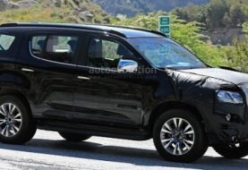 New Chevrolet/Holden Trailblazer Spied In LHD