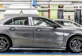 Mercedes-Benz Adds A-Class Sedan to Production Roster in Rastatt
