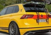 VW Tiguan Turbo S Trolls Porsche, Has a Wing