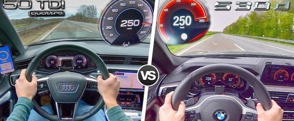 2019 Audi A6 50 TDI vs. BMW 530d: Which Is the Fastest?