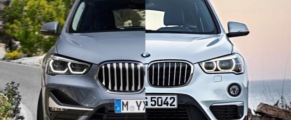 Photo Comparison: 2020 BMW X1 vs. 2016 BMW X1