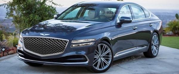 2020 Genesis G80 Rendering Looks Like a Mercedes Nemesis