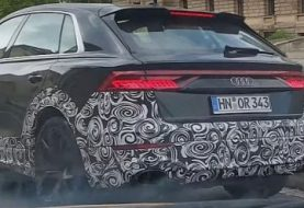Audi RS Q8 Filmed in Urban Traffic, Looks Massive