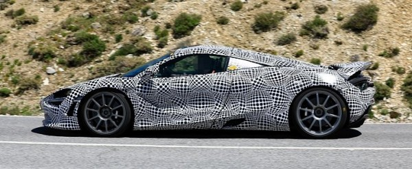 McLaren 720S Successor Spied Testing Hybrid Power as Ferrari SF90 Stradale Rival