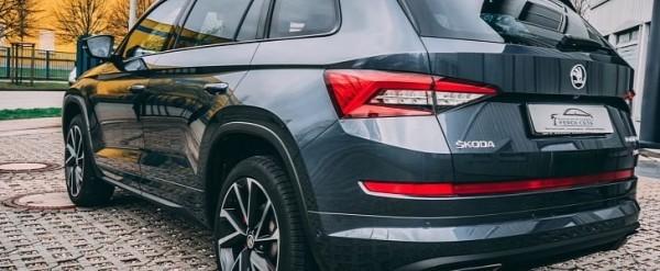 Skoda Kodiaq RS Gets Fake V8 Exhaust Sound