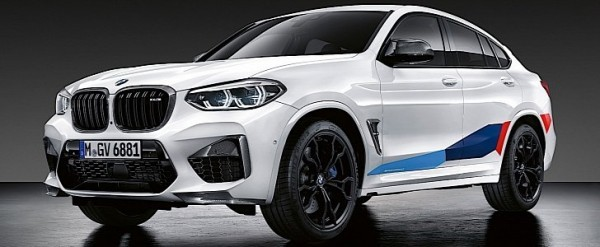 2020BMW X3 M and X4 MGet Extra Mean with Exclusive M Performance Parts