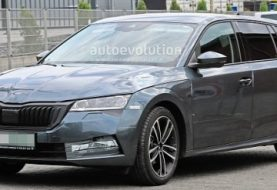2020 Skoda Octavia Wagon Spied With Minimal Superb-Inspired Camo