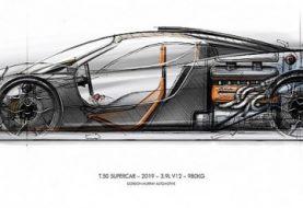 Enter T.50, Gordon Murray's McLaren F1 Successor Priced at £2 Million