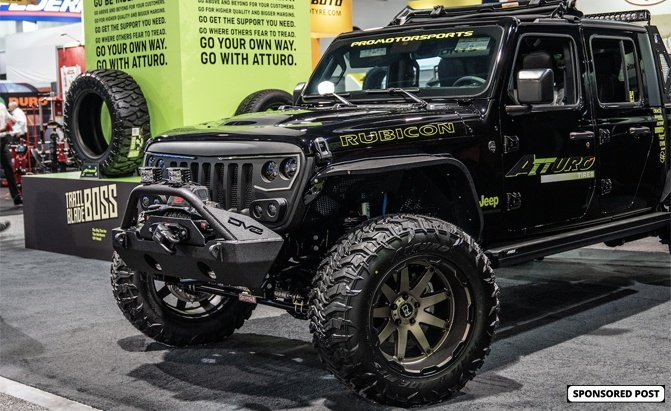 Atturo Debuts Their New Trail Blade MTS Tires on a Mean-Looking Jeep Gladiator SEMA Build