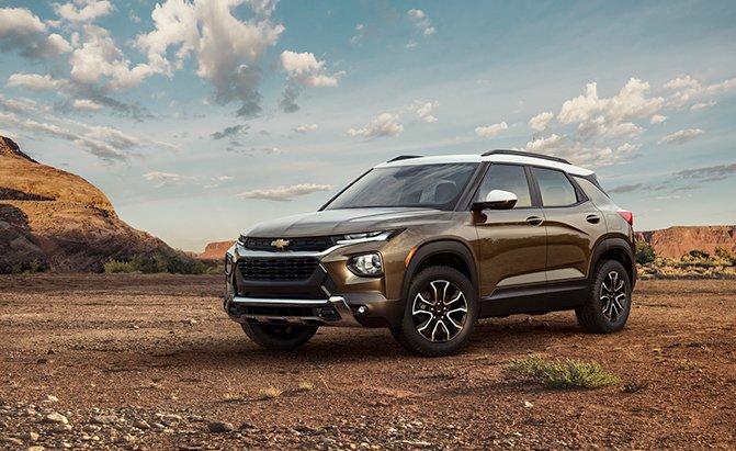 2021 Chevrolet Trailblazer Debuts, Starts Under $20K