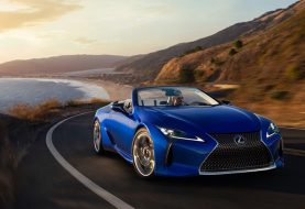 Lexus Officially Unveils LC Convertible, And Of Course It's Stunning