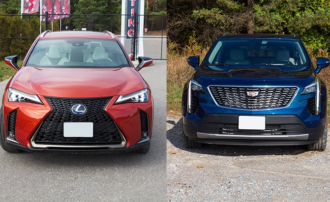 Lexus UX vs Cadillac XT4 Comparison