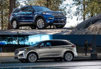 2020 Ford Edge vs 2020 Ford Explorer Comparison