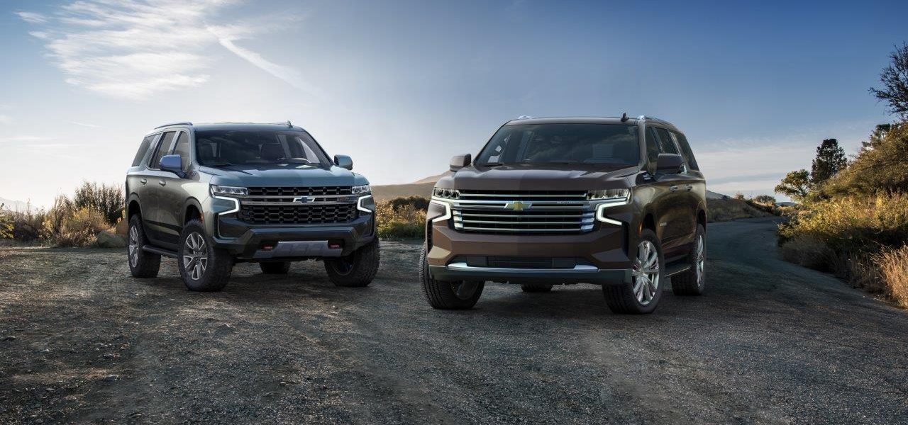 Chevrolet Reveals 2021 Tahoe and Suburban