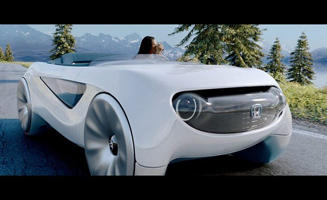 Honda Previews CES-Bound Augmented Driving Concept, and It's Adorable