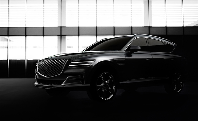 2021 Genesis GV80 is the Luxury Brand's First SUV