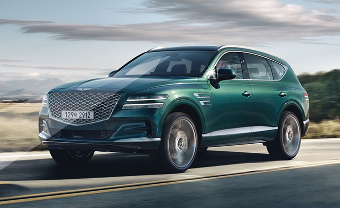 Genesis Takes the Wraps Off 2021 GV80, Its First Luxury SUV