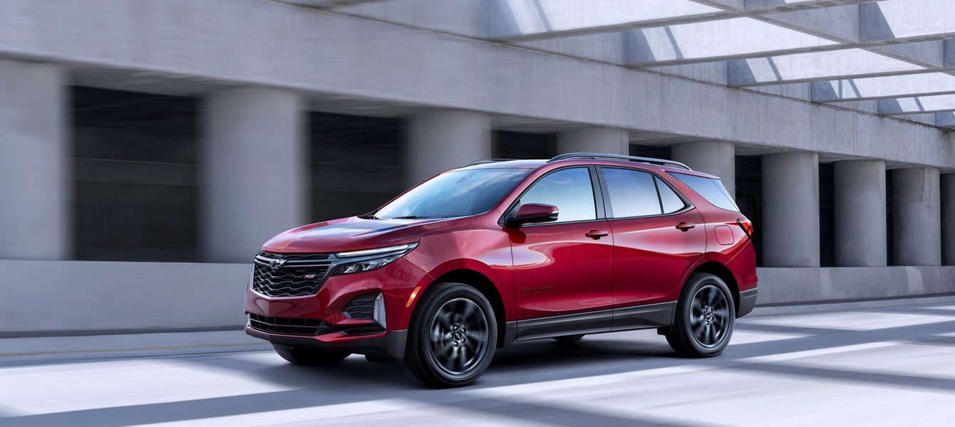 2021 Chevrolet Equinox Blazes a Familiar Styling Path