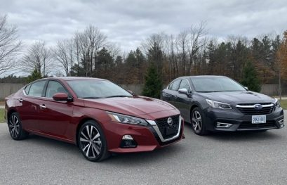 2020 Nissan Altima vs 2020 Subaru Legacy Comparison