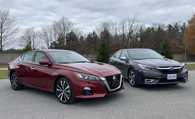 2020 Nissan Altima vs 2020 Subaru Legacy Comparison