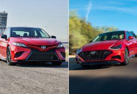 Toyota Camry vs Hyundai Sonata Spec Comparison