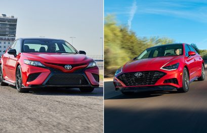 Toyota Camry vs Hyundai Sonata Spec Comparison