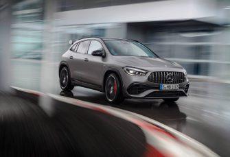 2021 Mercedes-AMG GLA45 Returns as Powerful Pint-Sized SUV